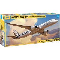 Zvezda Model Kit letadlo Airbus A-350-1000 1:144