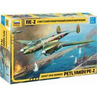 Zvezda Model Kit letadlo Petlyakov Pe-2 1:72