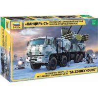 Zvezda Model Kit military Panzir S-1 SA-22 Greyhound 1:35
