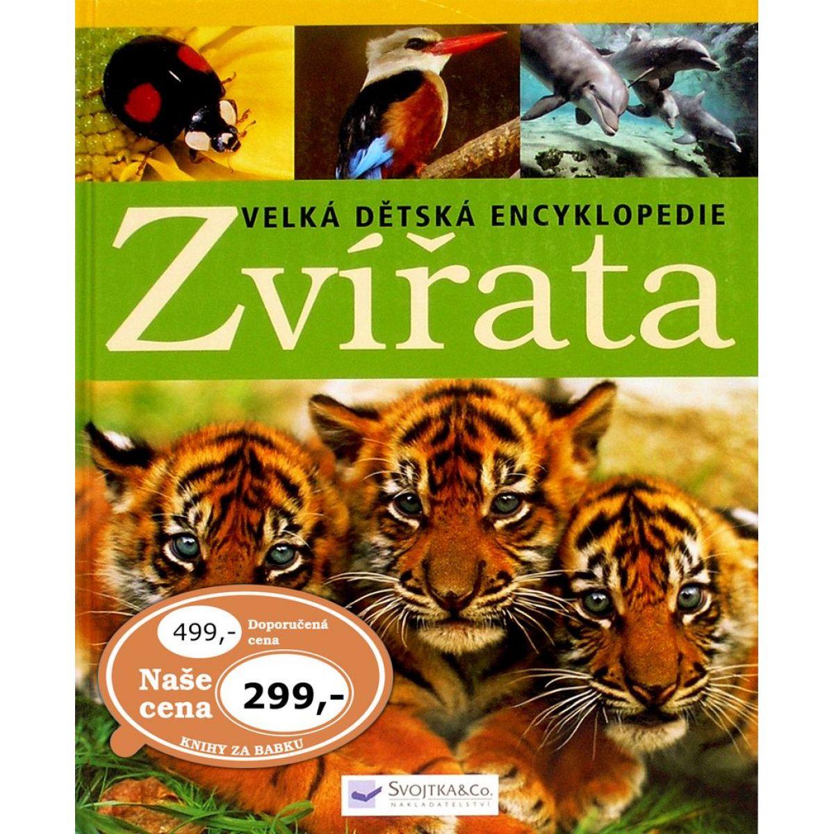 Svojtka Zvířata Velká dětská encyklopedie