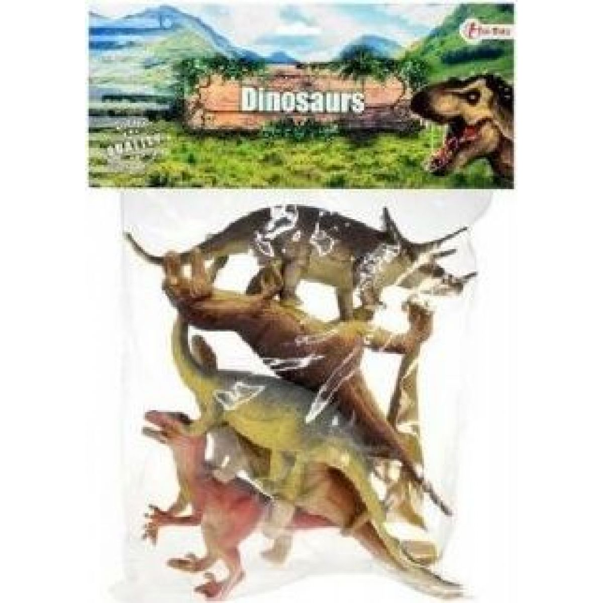 Zvířátka Dinosaurus 6ks
