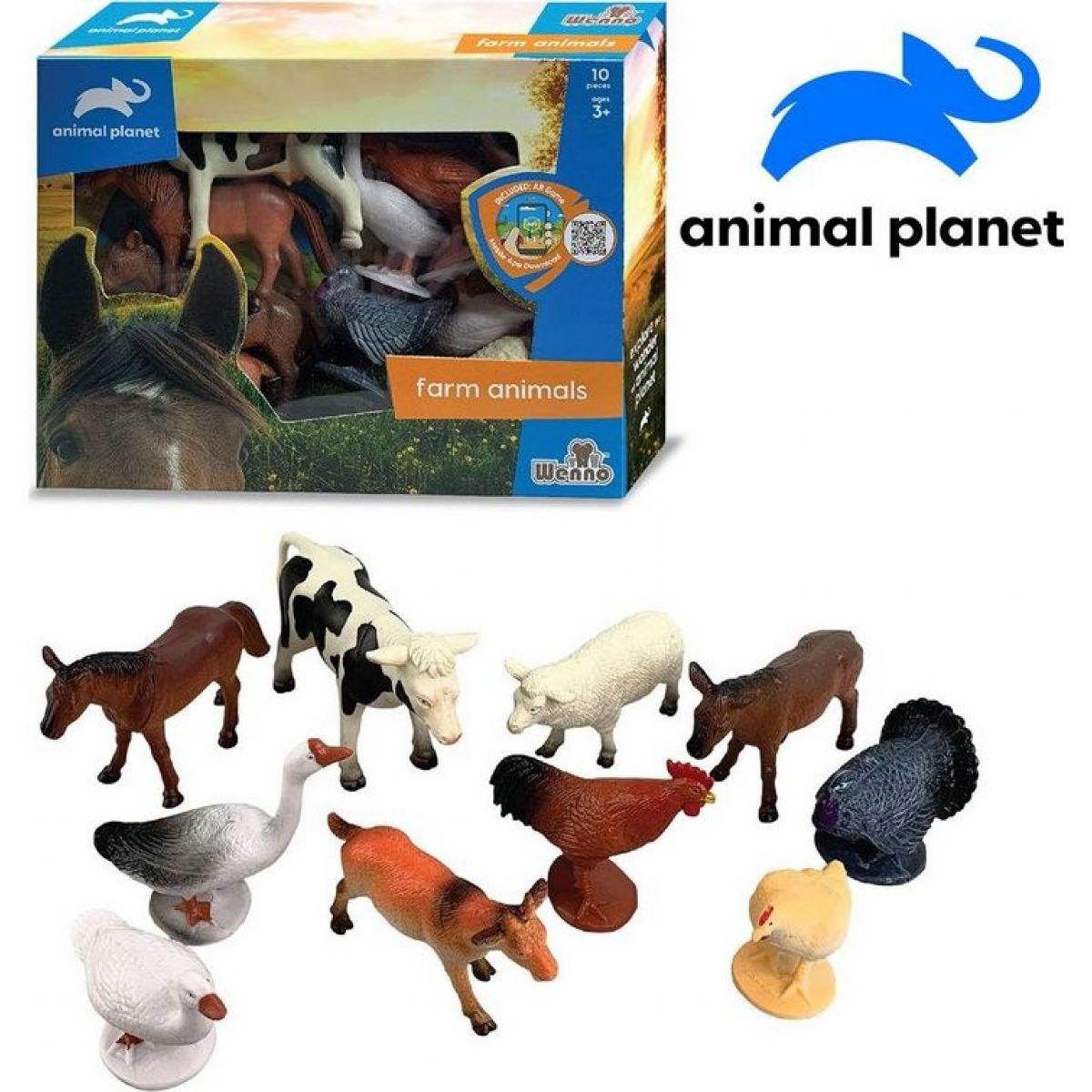 Made Zvířátka farma 10 ks s mobilní aplikací