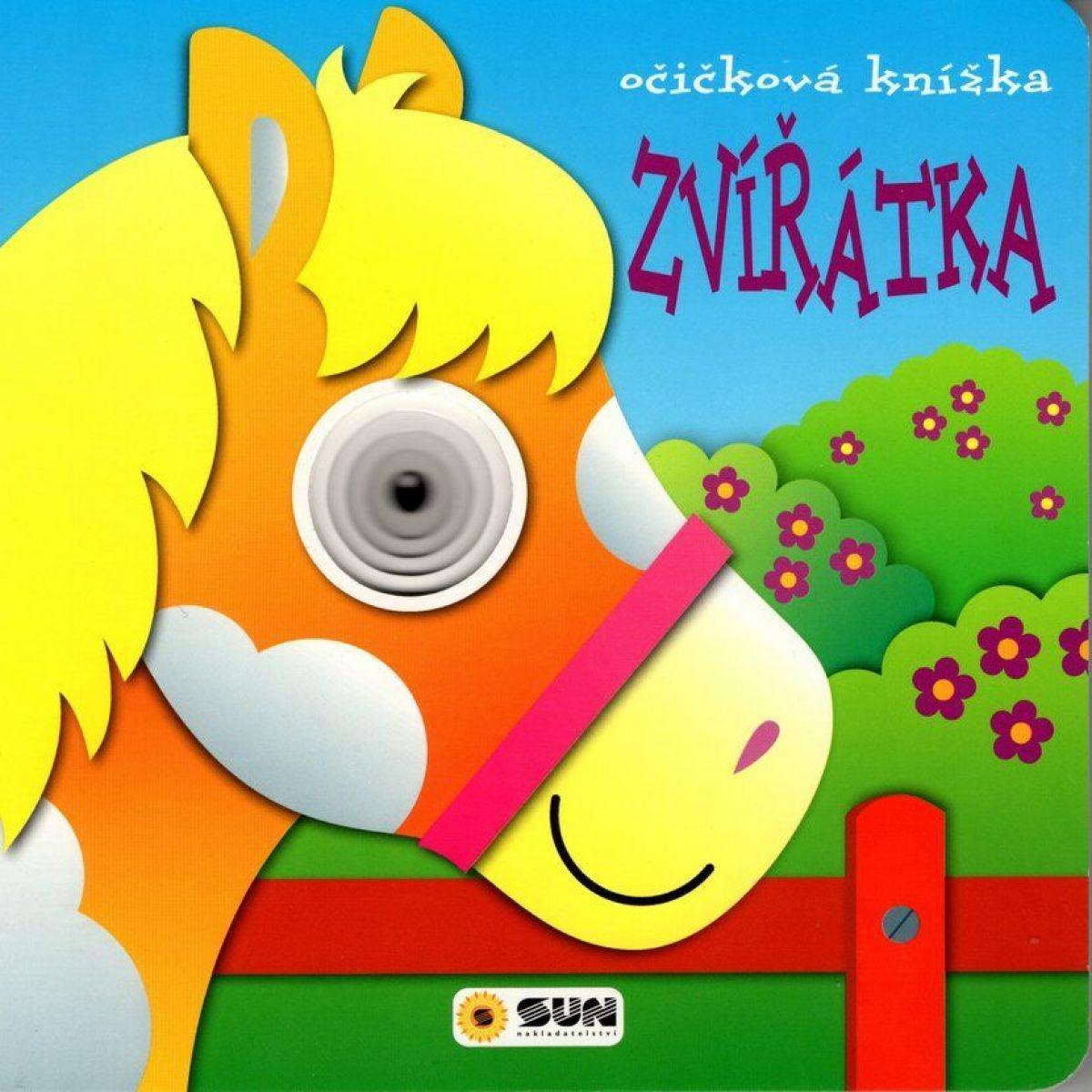 Sun Zvířátka očičková knížka leporelo