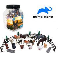 Made Zvieratká v dóze farma 30 ks mobilné aplikácie pre zobrazenie zvieratiek