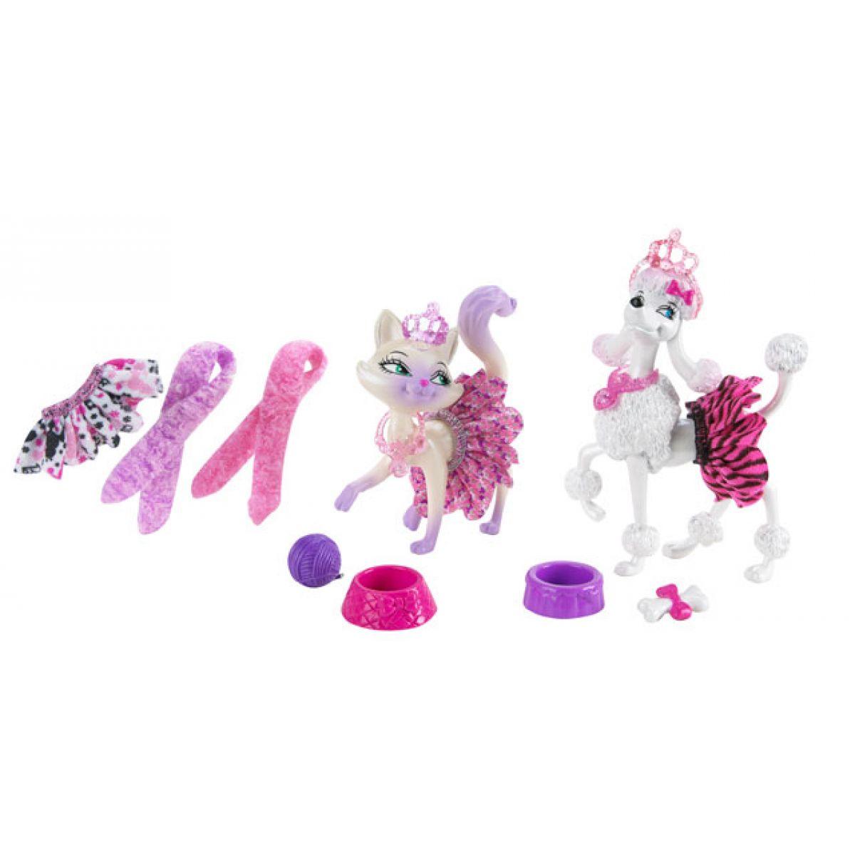 MATTEL T3358 - Barbie Zvířátka (Kouzelný módní salón)