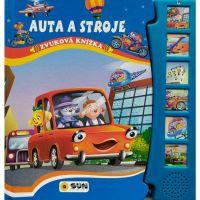 Sun Zvuková knížka Auta a stroje