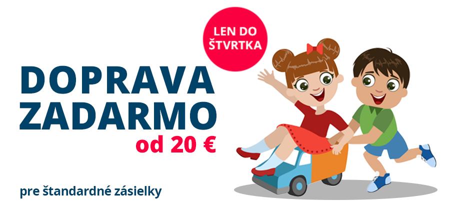 Doprava zdarma od 20 €
