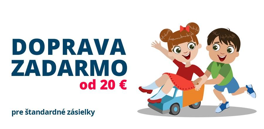 Len dnes! Doprava zdarma od 20 €